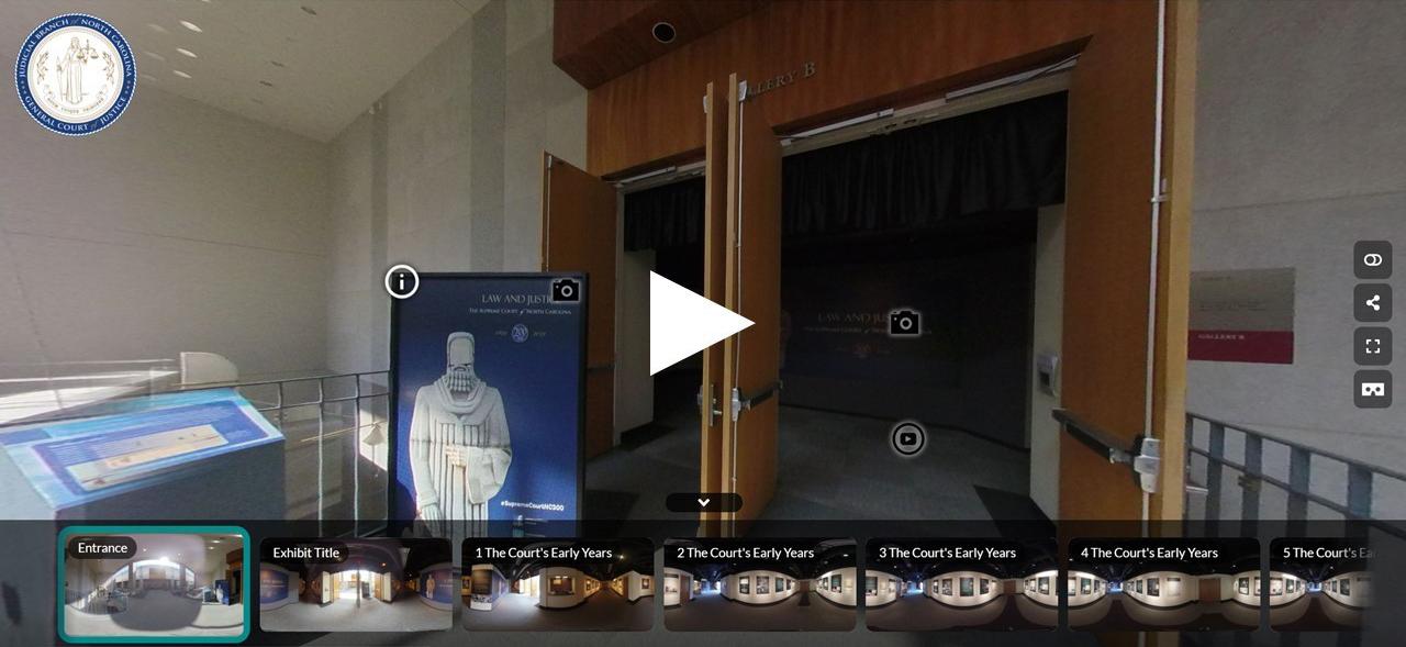 Supreme Court 200th Anniversary Exhibit Virtual Tour