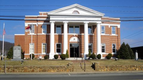 Alleghany County Courthouse