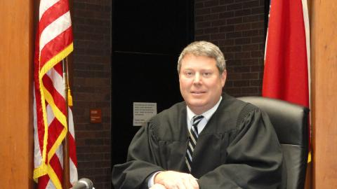 Chief District Court Judge Tom Jarrell