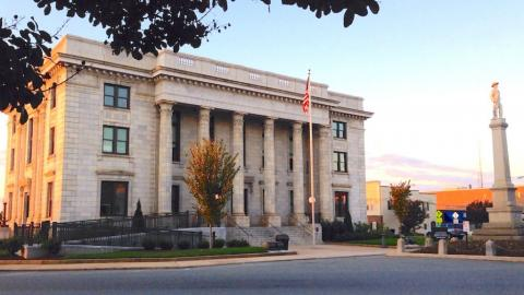 Alamance County Historical Courthouse