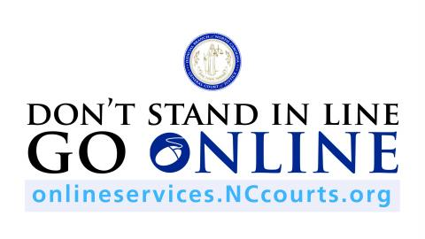 don't stand in line go online