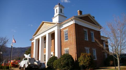 Polk County Courthouse | North Carolina Judicial Branch