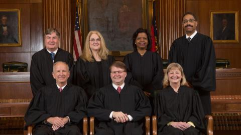 Justices of the Supreme Court of North Carolina