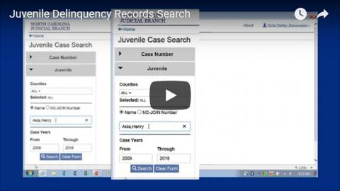 Juvenile Delinquency Records Search video thumbnail