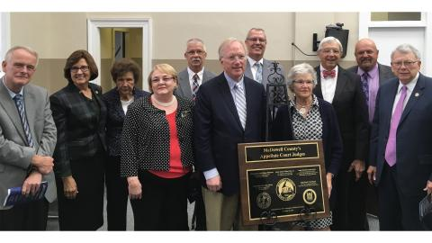 McDowell County Appellate Court Judges 175th Celebration