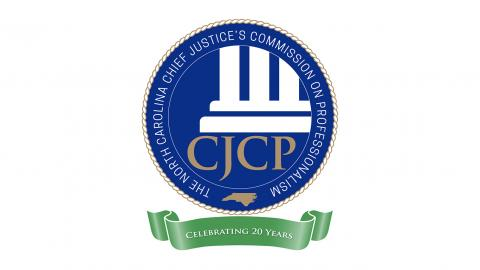 CJCP 20th Anniversary Seal