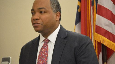 Mecklenburg County District Attorney Spencer B. Merriweather III