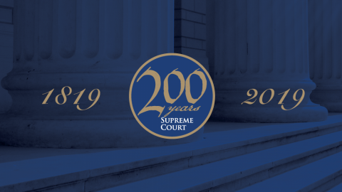 Supreme Court 200th anniversary