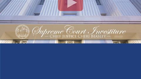 Chief Justice Beasley investiture