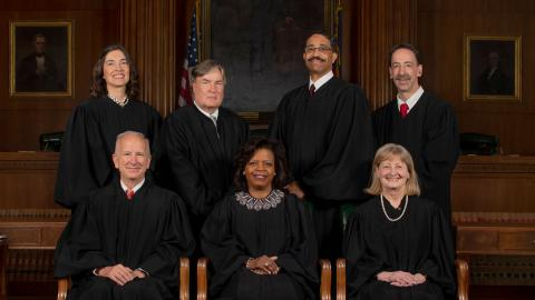 Justices of the Supreme Court of North Carolina (Spring 2019)