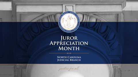 Juror Appreciation Month Poster