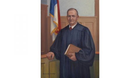 Portrait of Judge C. Thomas Everett