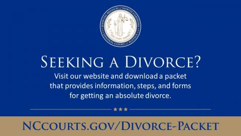 Divorce Packet