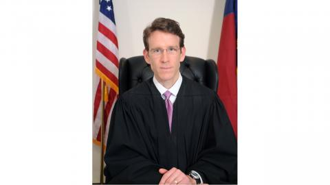 Chief District Court Judge Charlie Brown