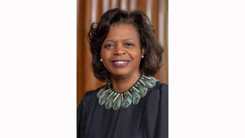 Supreme Court Chief Justice Cheri Beasley