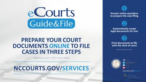 eCourts Guide & File