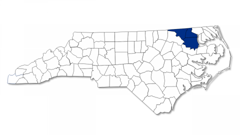 Bertie, Hertford, and Northampton Counties