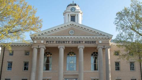 PItt County Courthouse